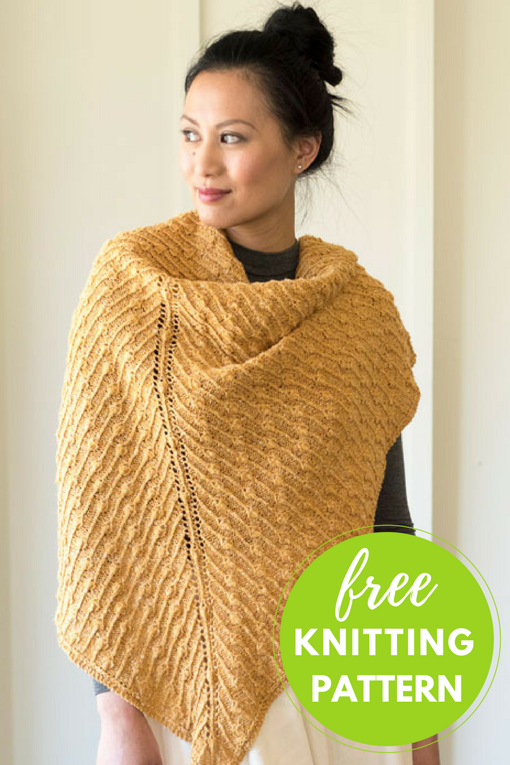 Free Knitting Patterns The Daily Knitter Induced Info