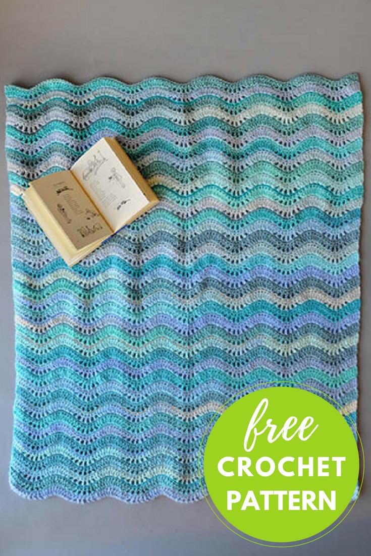 Inchworm Baby Blanket Free Crochet Pattern Blognobleknits