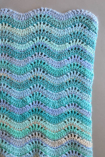 Inchworm Baby Blanket Free Crochet Pattern