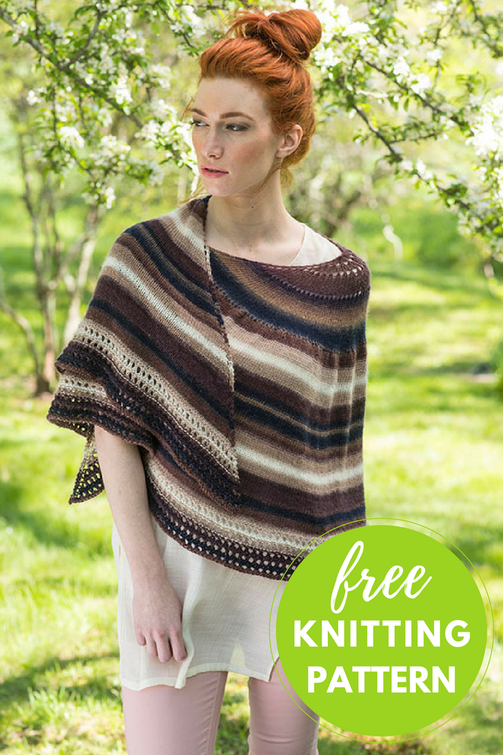 Omega Shawl Free Knitting Pattern