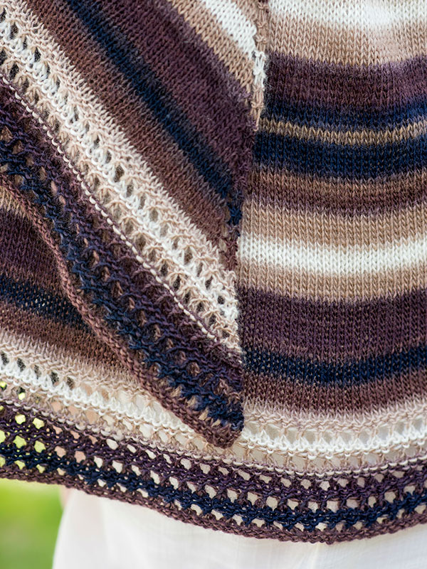 Free Knitting Pattern: Omega Shawl