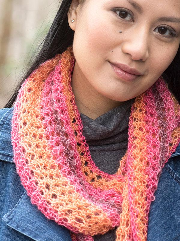 Free Knitting Pattern: Trelawny Scarf