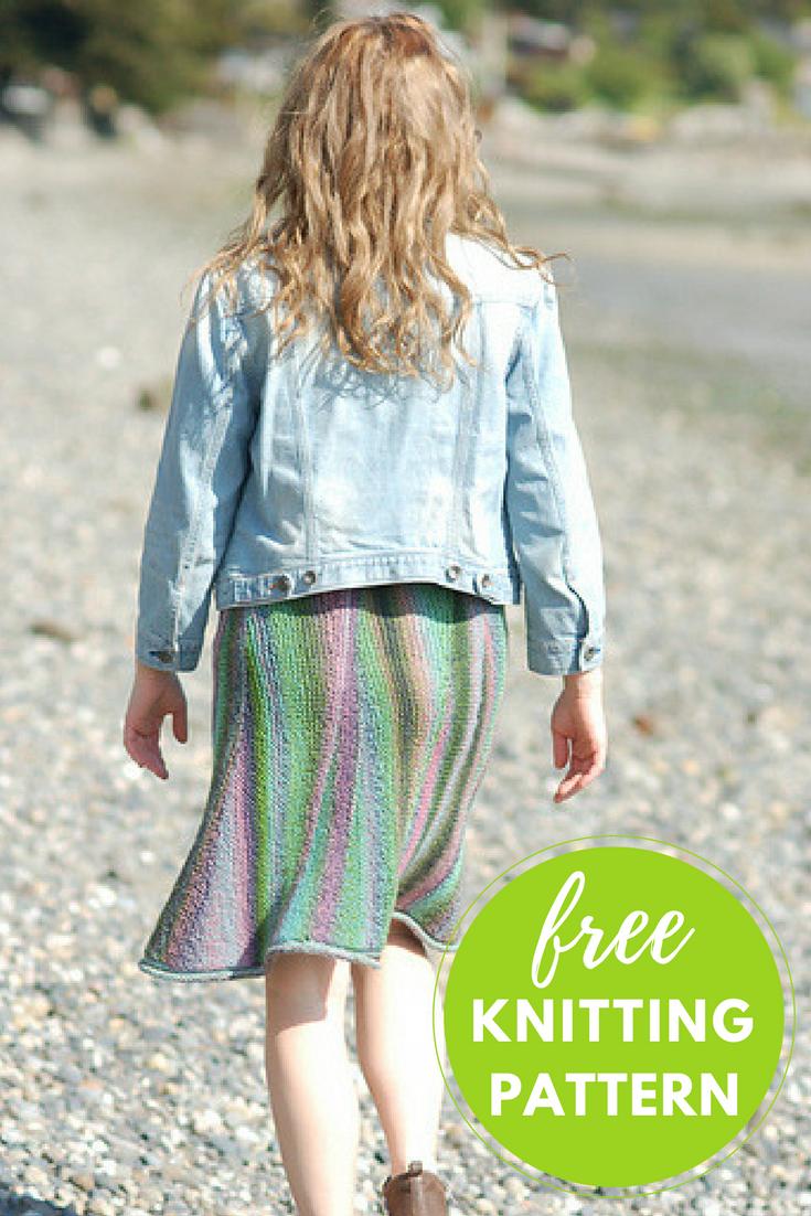 Slip On Amp Go Skirt Free Knitting Pattern Blog Nobleknits