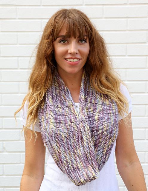 Plymouth Baby Alpaca Grande Hand Dye Cowl Free Knitting Pattern