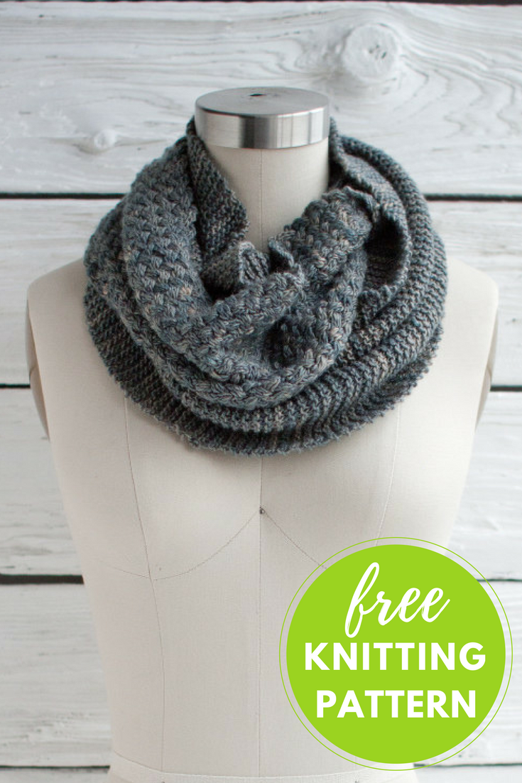 Cesta Cowl Free Knitting Pattern