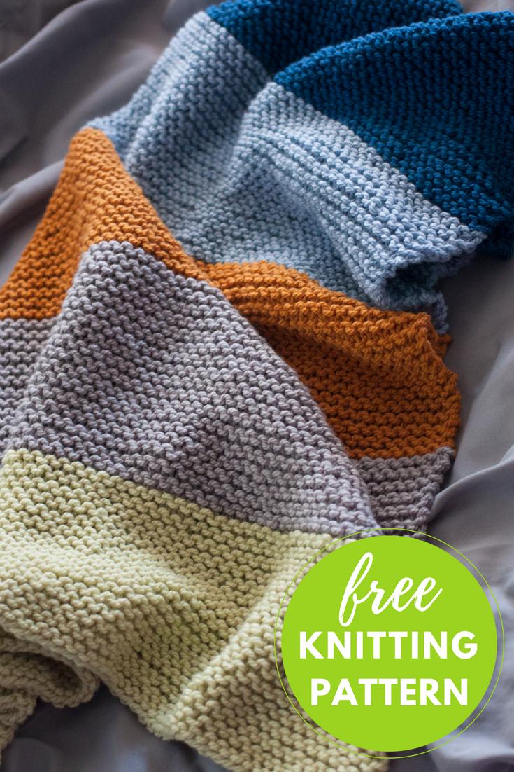 Bouncing Baby Blanket Free Knitting Pattern