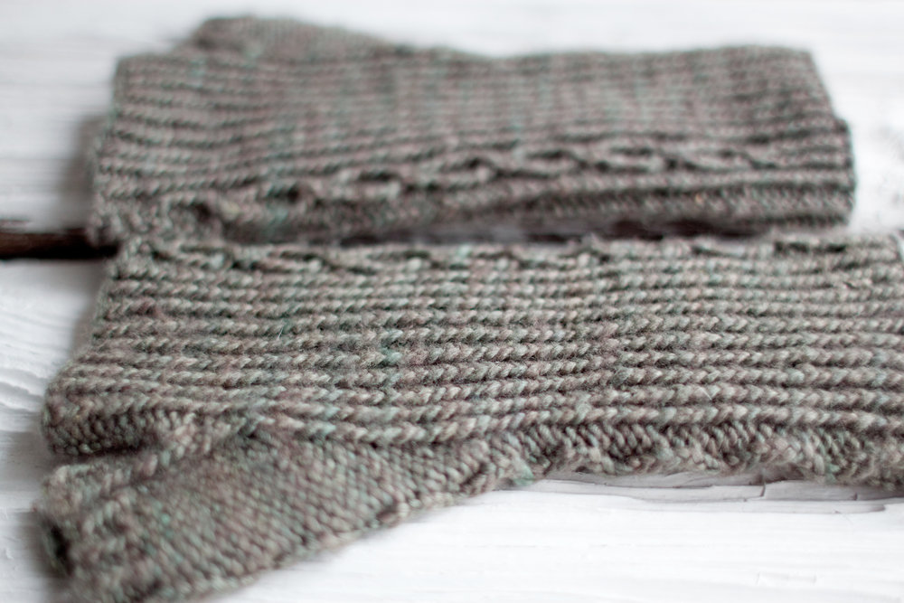 Fingerless Mitts Free Knitting Pattern