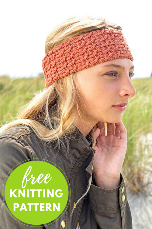 Clafoutis Headband Free Knitting Pattern