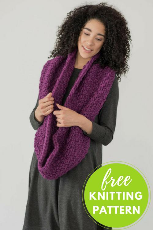 Yura Cowl Free Knitting Pattern