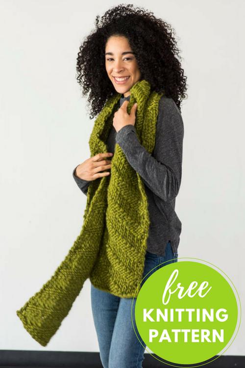 Kallik Scarf Free Knitting Pattern