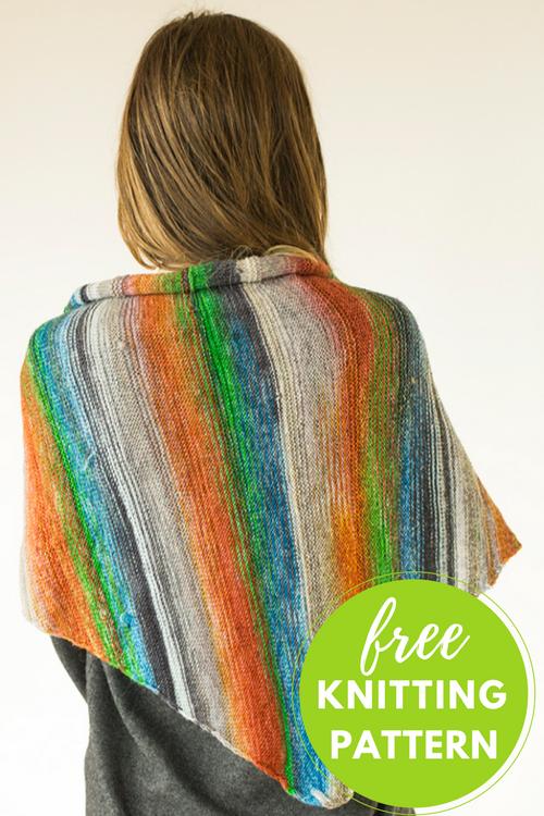 Uneek Sideways Shawl Free Knitting Pattern