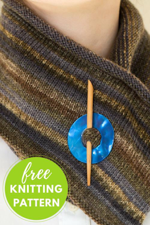 Monet Scarf Free Knitting Pattern