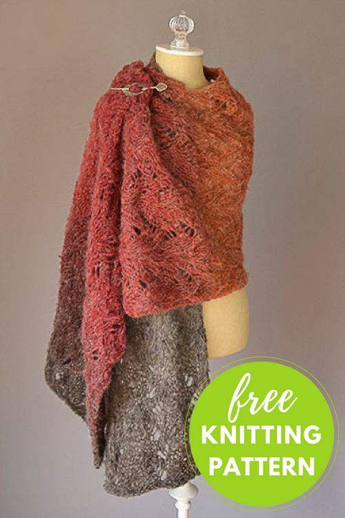 Warmth Stole Free Knitting Pattern
