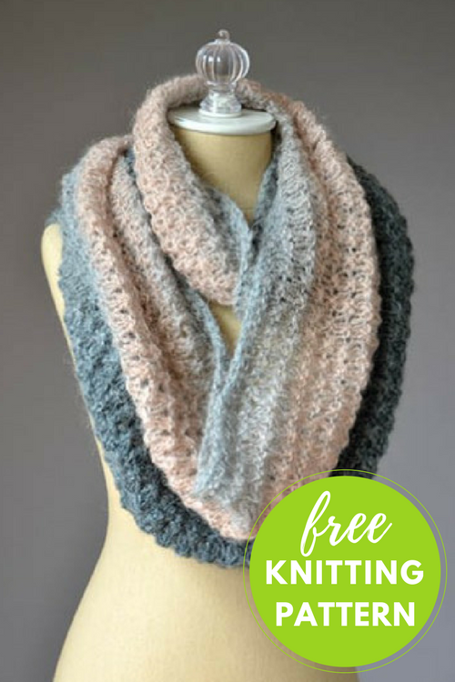 Mother of Pearl Cowl Free Knitting Pattern
