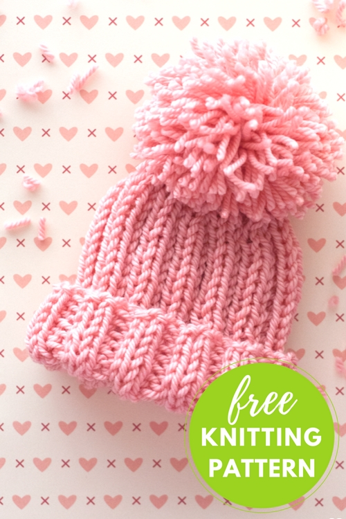 Half Pipe Hat Free Knitting Pattern