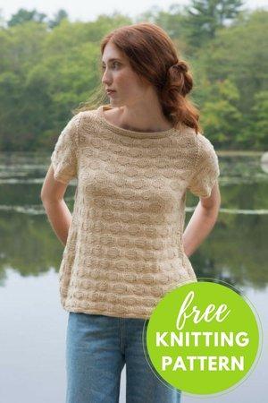 Simplicity Pullover Free Knitting Pattern Blogbleknits