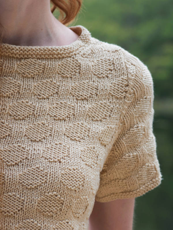 Eastman Pullover, closeup