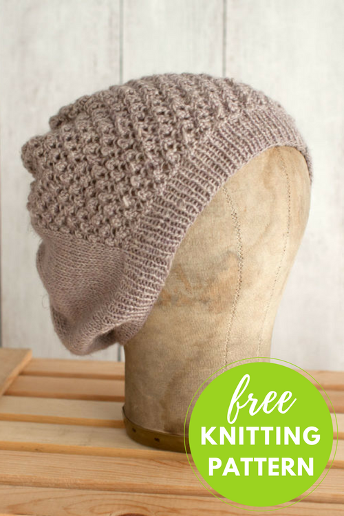 Mitad Hat Free Knitting Pattern - 1 skein project!