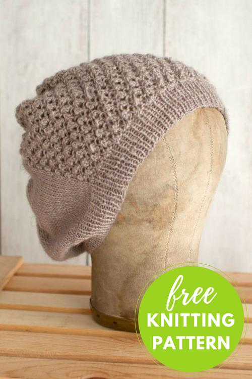 Mitad Hat Free Knitting Pattern - 1 skein project!