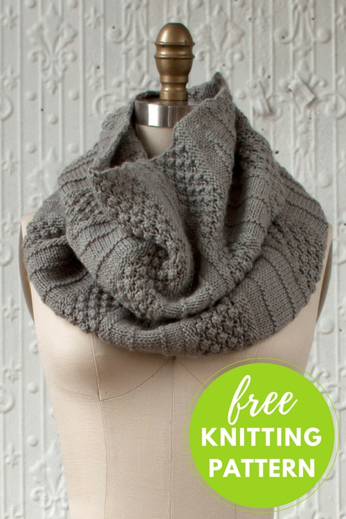 Empalme Cowl Free Knitting Pattern