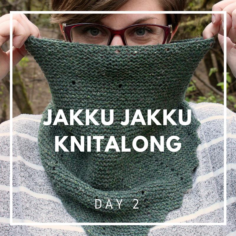 Jakku Jakku Cowl Knit Along Day 2