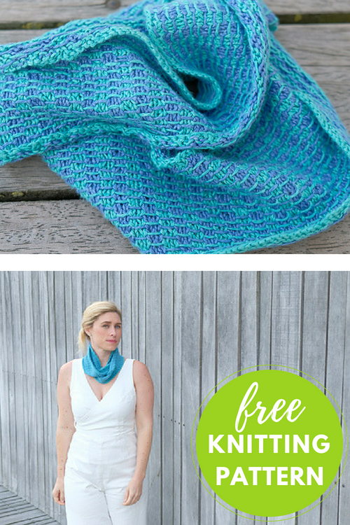 Amager Cowl Free Knitting Pattern