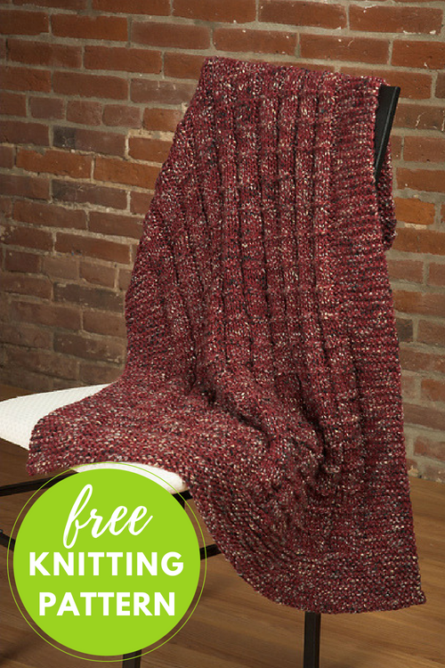 Coffee Beenz Lap Throws Free Knitting Pattern — Blog.NobleKnits