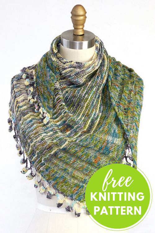 House Down Shawl Free Knitting Pattern