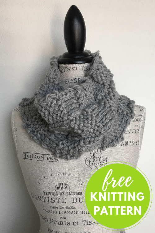 Free Knitting Pattern Cold Weather Cowl