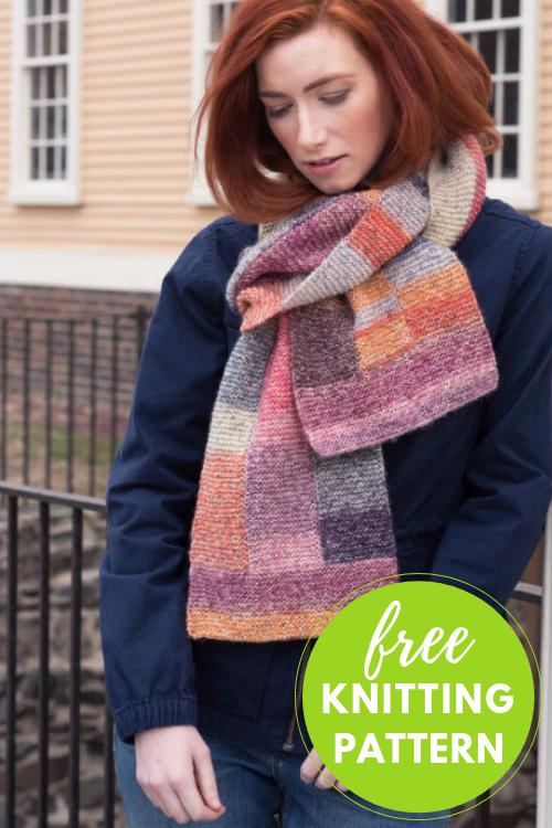 Mila Free Scarf Knitting Pattern