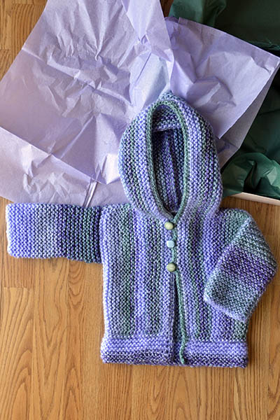 Free Knitting Pattern: Cozy Baby Sweater