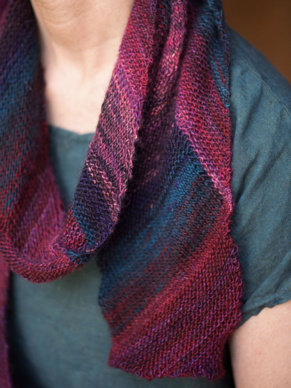Mitered Scarf One Skein Project!
