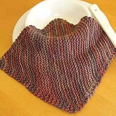Corner to Corner Free DishCloth Knitting Pattern