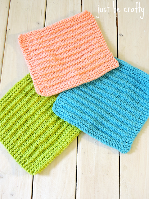 Kitchen Dishcloths You Can Knit
