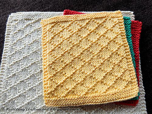 Easy Dishcloth Knitting Patterns