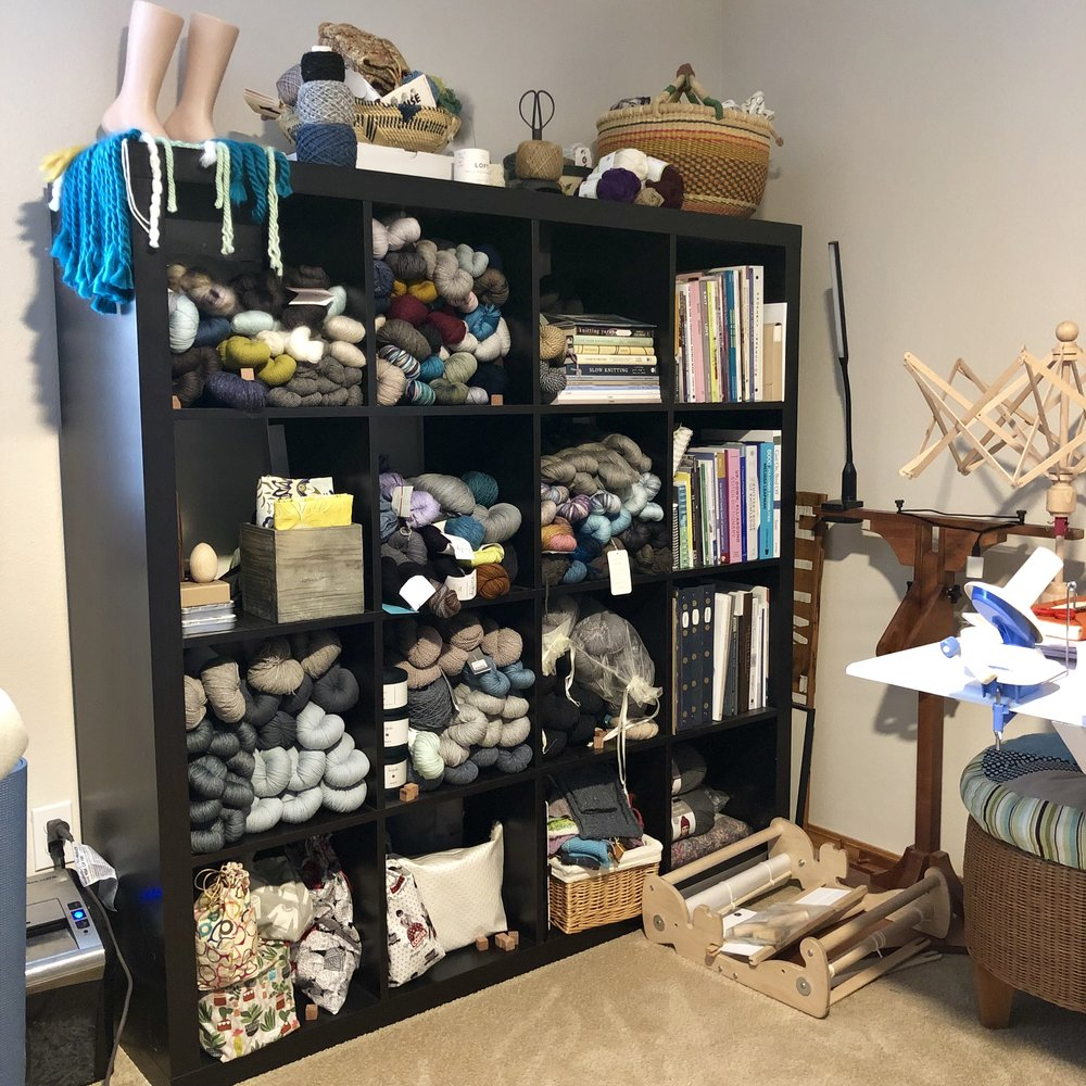 How do you store your yarn? Check out these yarn storage ideas!
