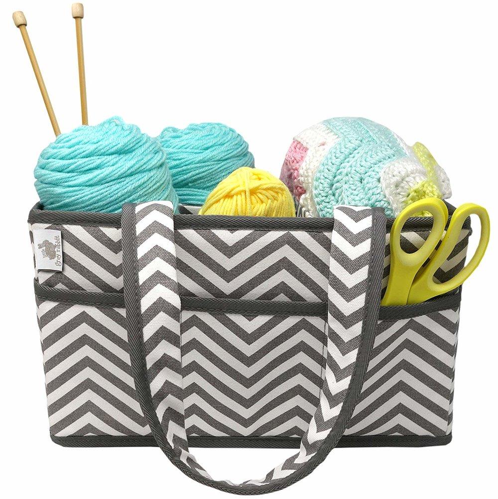 Crafting Fun! Yarn and Knitting Caddy