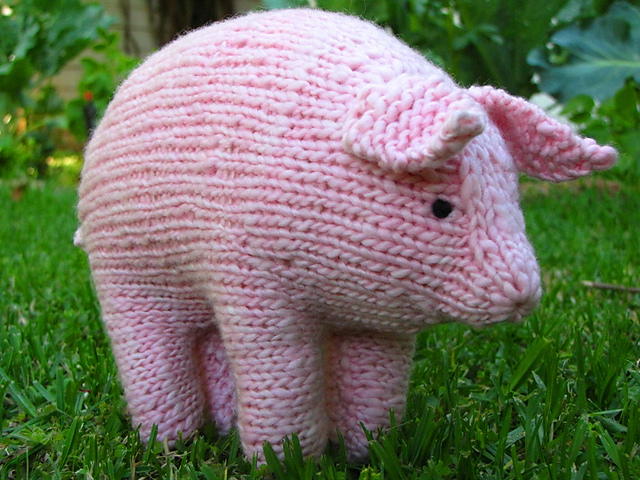 Cute Pigs Patterns to Knit