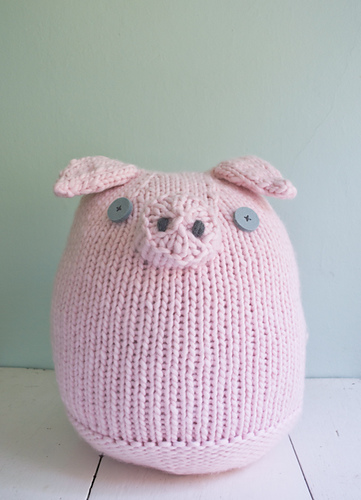 Knit adorable Pigs - Fun and Fast Projects!