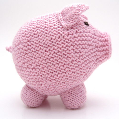 Ham it Up with Cute and Cuddly Pigs to Knit