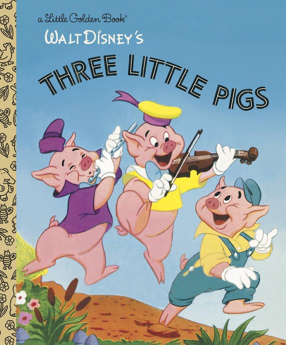 Golden Book: Three Little Pigs