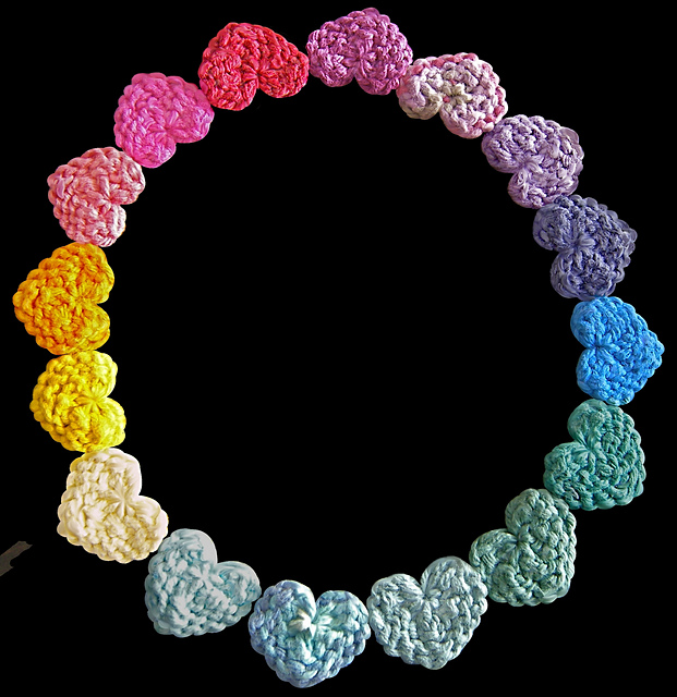Tiny Hearts Free Knitting Patterns