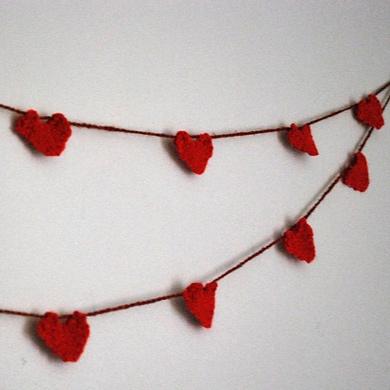 Hearts Free Knitting Patterns
