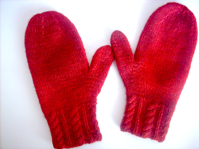 Mittens to Knit on Two Needles