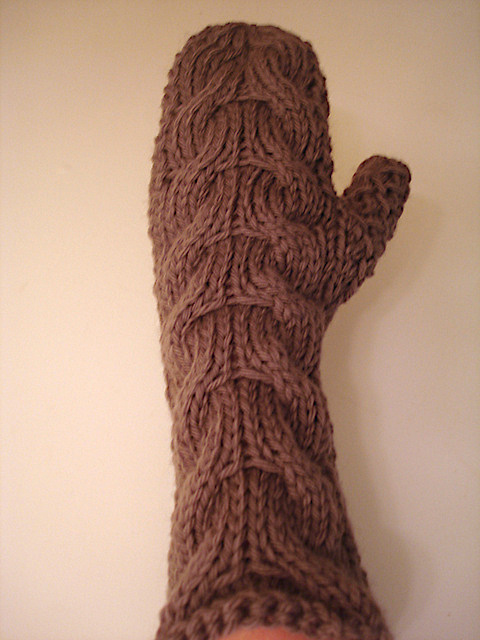 Mittens Projects to Knit Flat on Two Needles