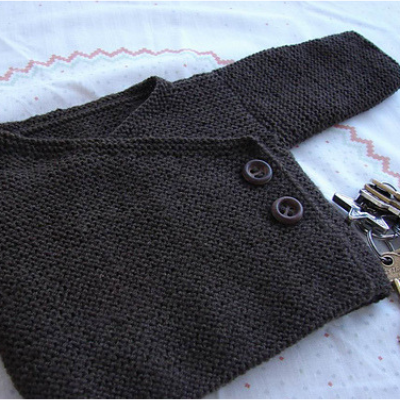 9 Easy Baby Sweater Free Knitting Patterns Blog Nobleknits
