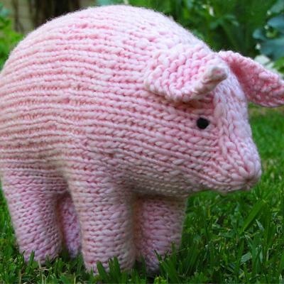 5c0b46598 Oink! 10 Sizzling Pig Knitting Patterns — Blog.NobleKnits