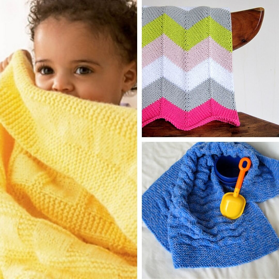 It's just a photo of Free Printable Knitting Patterns for Baby Blankets with baby girl