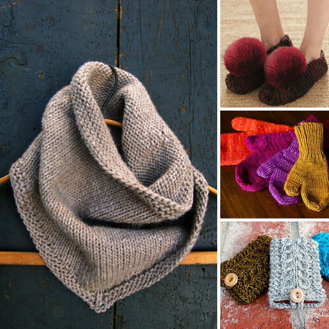 10 Quick Knit Gifts Free Patterns For Everyone On Your List Blog Nobleknits