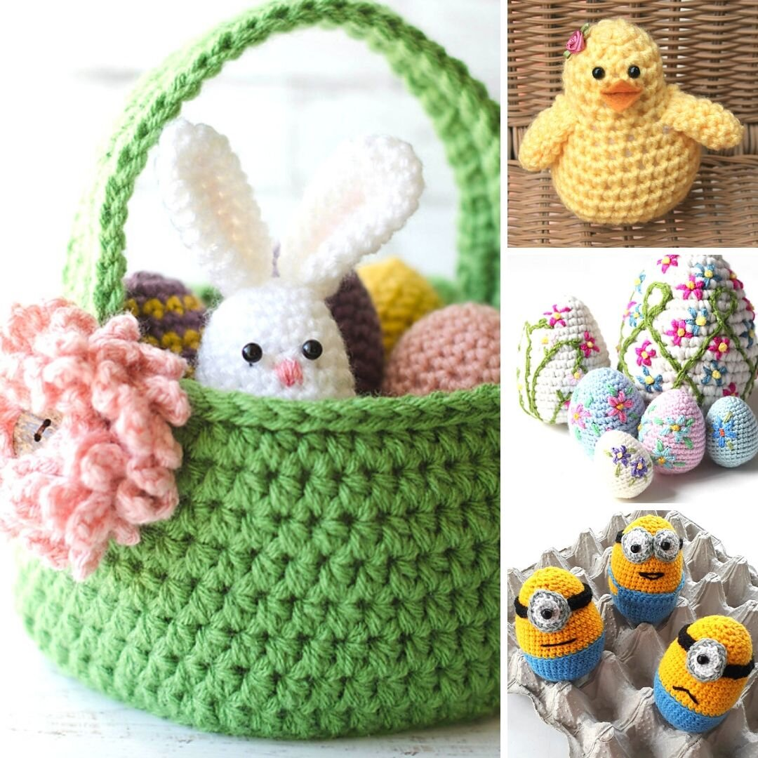 10 Easy And Adorable Free Easter Crochet Patterns Blog Nobleknits